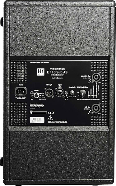 HK AUDIO ELEMENTS E110SUBAS 2